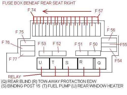 Fuse Box Chart 2000 S430 Mercedes Wiring Diagram Wiper A Wiper A Bujinkan It