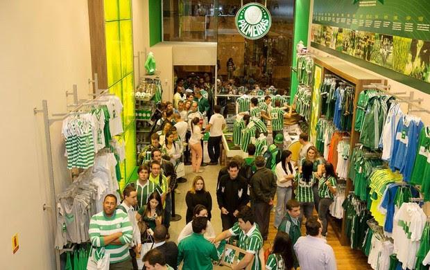 loja oficial do palmeiras (Foto: Divulgação)