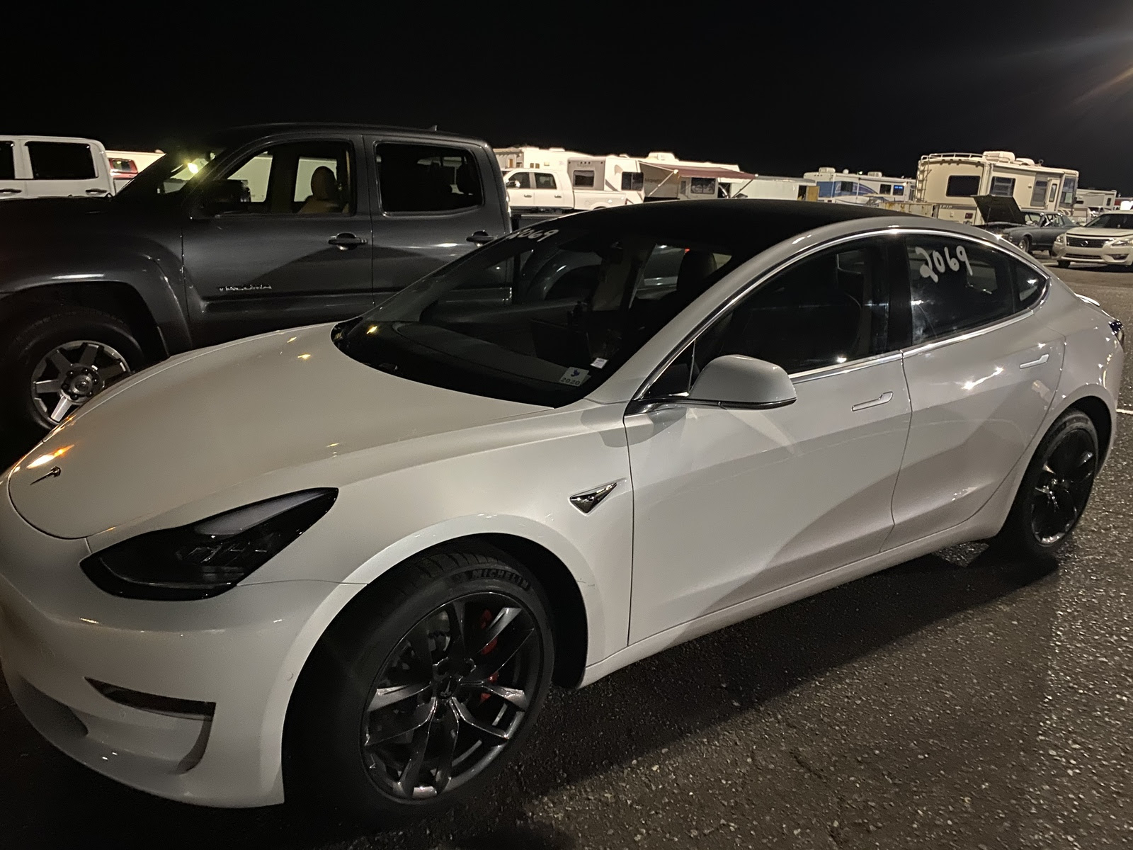 2020 Pearl White Tesla Model 3 Performance Pictures Mods Upgrades Wallpaper Dragtimes Com