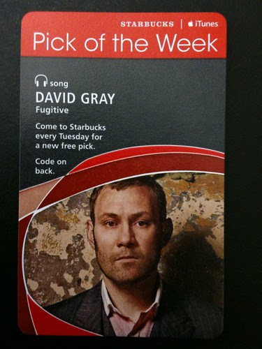 @Starbucks iTunes Pick of the Week - David Gray - Fugitive