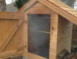 DIY Cedar Smokehouse