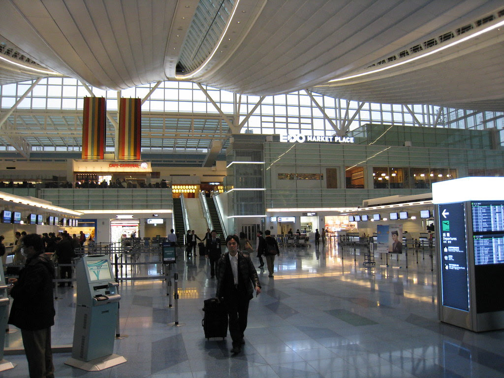 Departure Hall of Haneda (HND) International Terminal