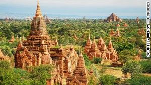 Bagan, Myanmar will be a popular destination for river cruises in 2015.