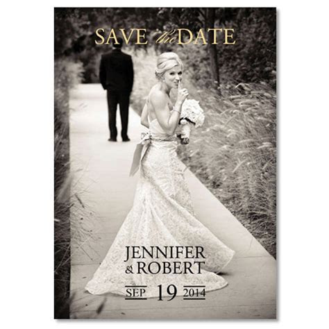 Cheap vintage simple photo save the date EWSTD044 as low
