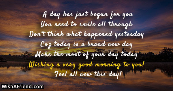 Motivational Good Morning Messages