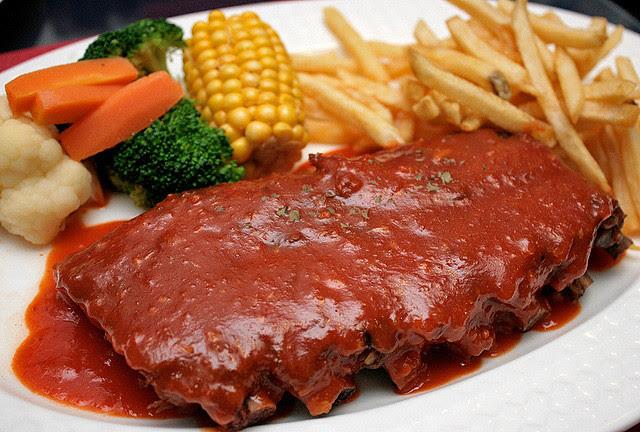 Memphis-style Hickory Smoked BBQ Pork Ribs (S$21.95)
