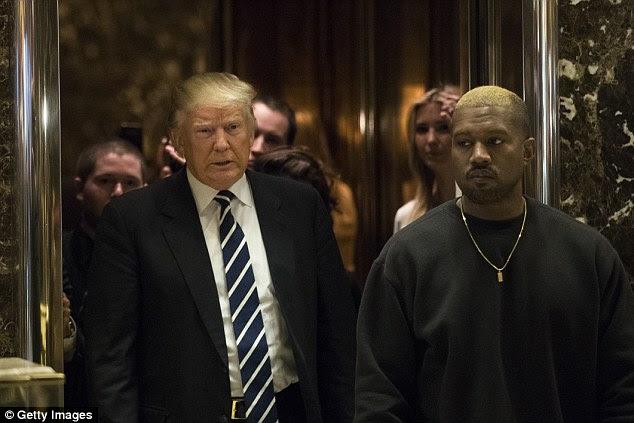 Saraiva ao Yeezy: O ícone do rap teve uma audiência com o agora-presidente Donald Trump o mês passado na torre do triunfo em NYC