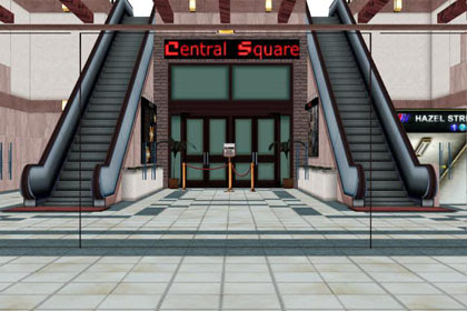 MMD Central Square Entrance