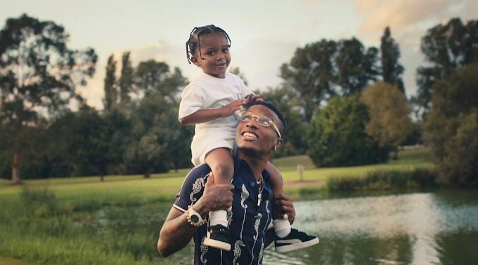 Wizkid features his 3 sons in his new music video, dedicates the song to them (Photos/Video)