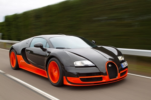 Bugatti Veyron Fastest Supercars
