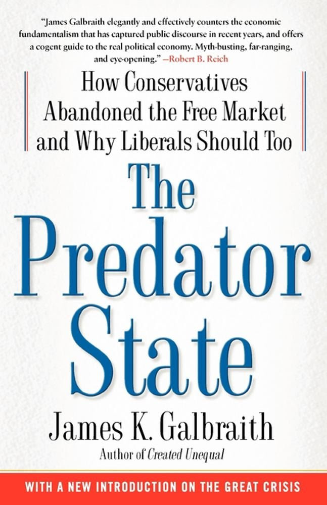 Amazon.com: The Predator State: How Conservatives Abandoned the ...