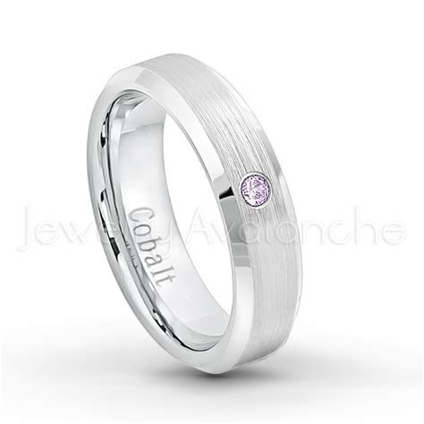 0.07ctw Amethyst Solitaire Ring ? February Birthstone Ring