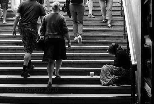 beggar in Paris