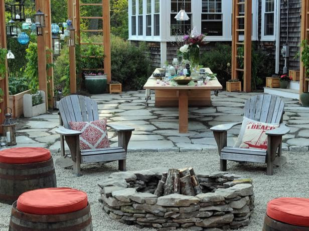 Outdoor Fire Pit Patio Design Ideas