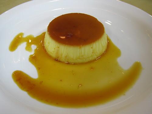 Crème Caramel - unmolded