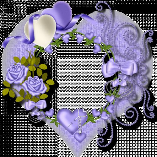 Isadamindan Cerceveler Lila Renkli Romantik Kalpli Mor Cicekli Yuvarlak Cerceveler 306 Mor Rennkli Goktepeliler Com