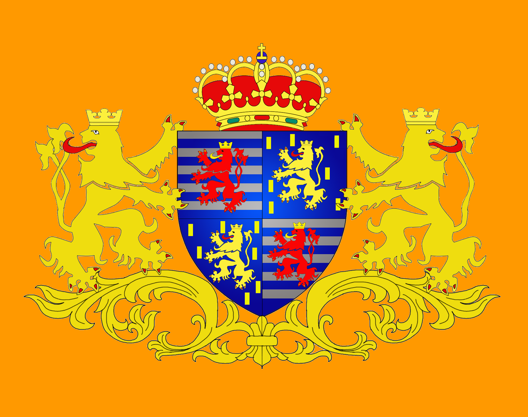 The Grand Ducal Standard of Luxembourg