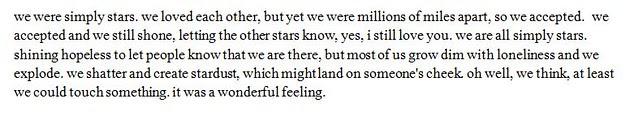but stars are stupid.
