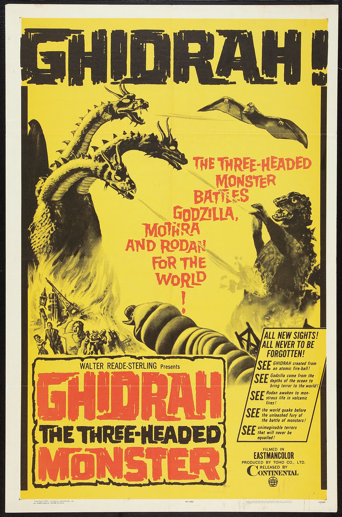 Ghidrah, the Three-Headed Monster (Continental, 1965) 1