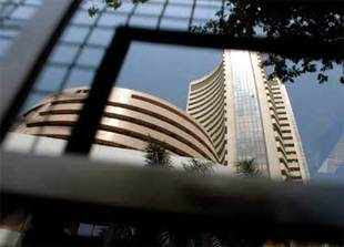 Weak trends in global markets on Eurozone debt worries and the rupee trading above 55-levels against the dollar also hit the sentiment.