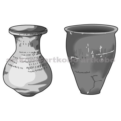 Web教材イラスト図版工房 S弥生土器の種類