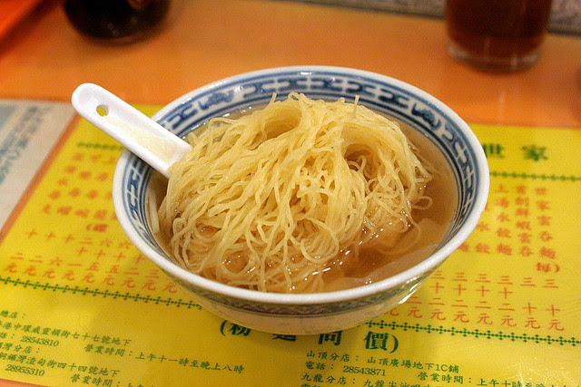 The infamously small bowl - Mak's Noodles