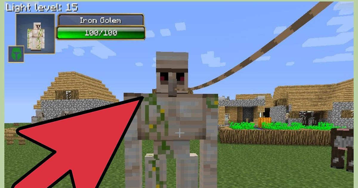 How To Make A Iron Farm In Minecraft Survival