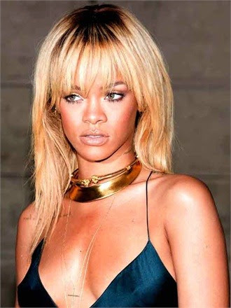 rihanna blonde hair red carpet fashion kenneth jay lane jewelry