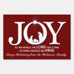Joy to the World | Christmas Lawn Signs