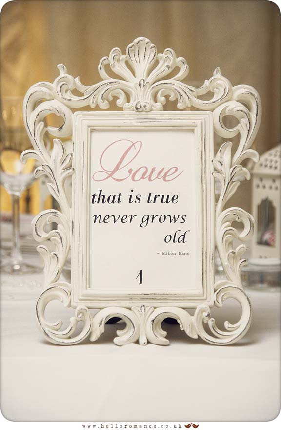 Vintage Wedding Photo Frame - Hello Romance Wedding Photography Suffolk