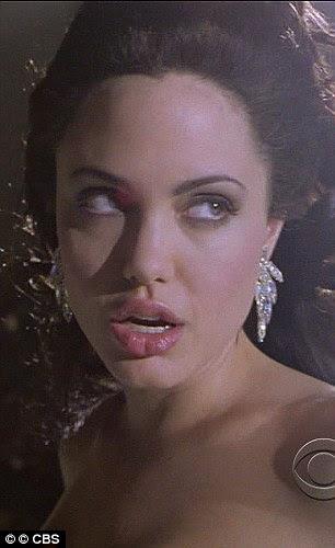 Trocar caras: Angelina como modelo problemático em 1998 de Gia e como Lara Croft em Tomb Raider de 2001