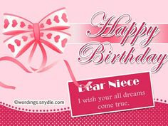 Comfortable 21st Birthday Wishes For Niece Happy Birthday Wishes
