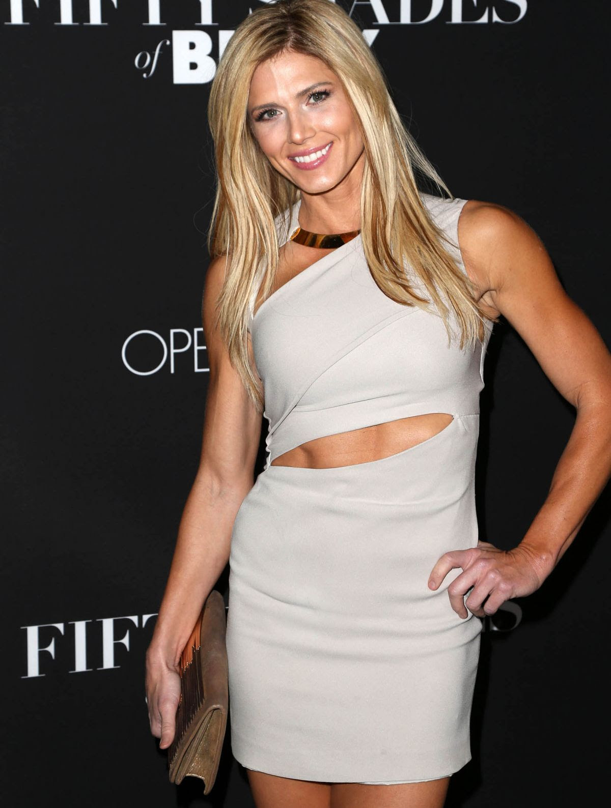 TORRIE WILSON at Fifty Shades of Black Premiere in Los Angeles 01/26/2016
