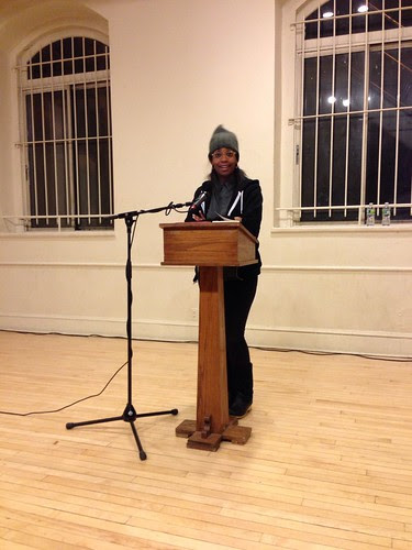 Simone White, introducing at St. Mark's Place