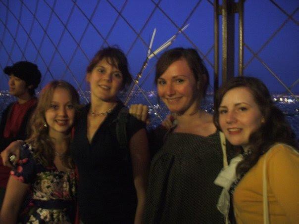 University holiday to Paris
