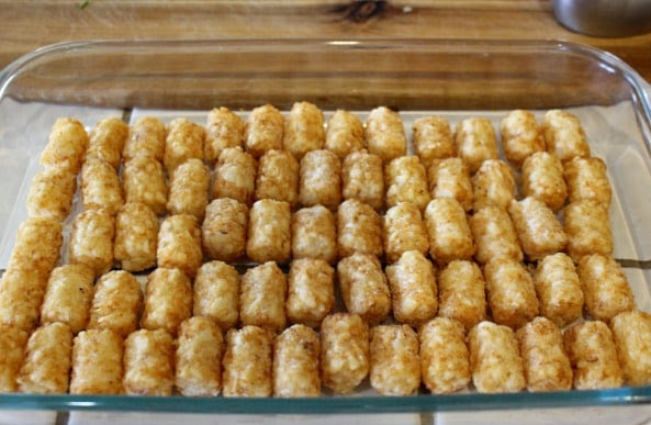 Jalapeno Popper Casserole Recipe with Tater Tots