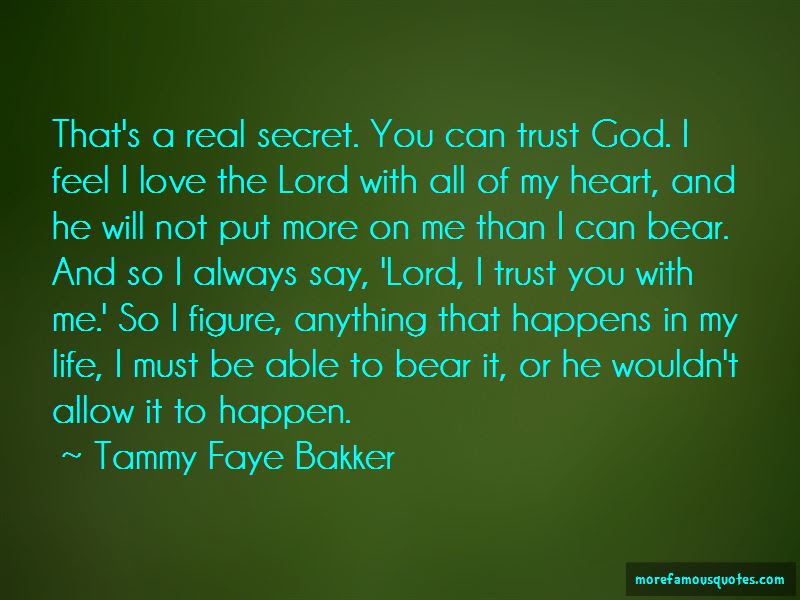 Always Trust In God Quotes Top 33 Quotes About Always Trust In God