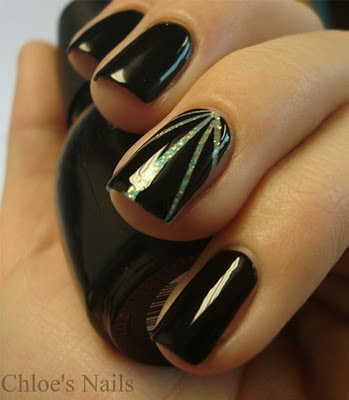 34 Amazing DIY Nail Art Ideas Using Scotch Tape (15)
