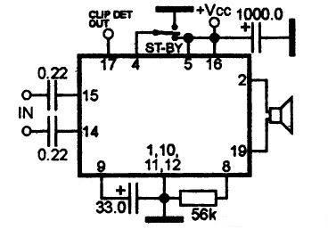 Усилитель звука на микросхеме TDA7391PD