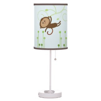 Monkey {nursery} Lamp