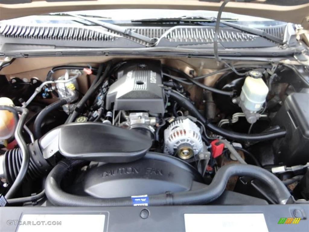 Chevrolet Gallery  2003 Chevrolet Silverado 1500 Engine 53