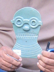 Dick Daniels Alien Head