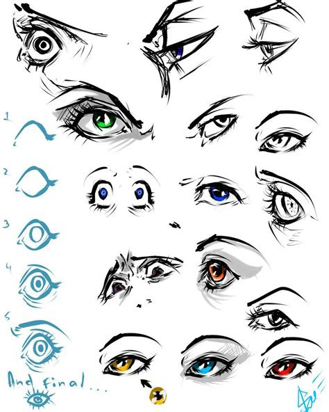 eyes practice   art tutorials drawings