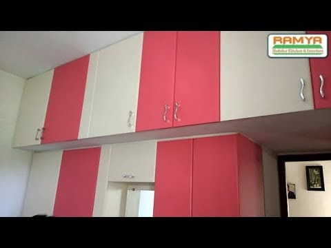 Smooth Matte Finish Pink & White For Ramya Modular Kitchen, Mr Karthik Porur Tollgate