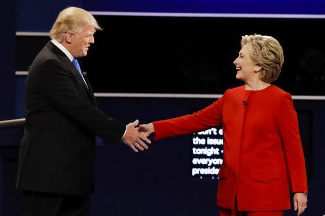 """Résultat de recherche d'images pour """"premier débat clinton-trump"""""""