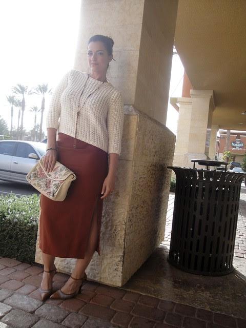 Vintage Skirt Catholic Charities