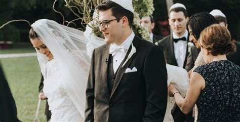 What are the Elements of a Jewish Wedding Ceremony