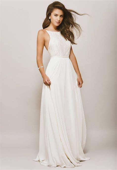 20 Elegant Minimalist Wedding Dresses   Wedding Gowns and