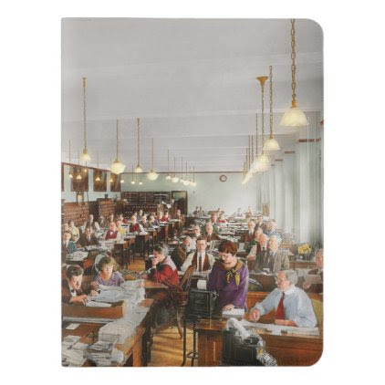 Accountant - Workaholic 1923 Extra Large Moleskine Notebook