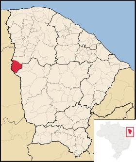 Localização de Poranga